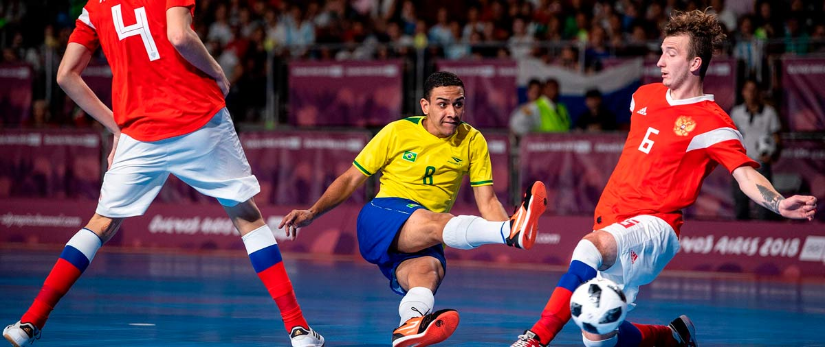 Which national teams are the powerhouses in futsal?